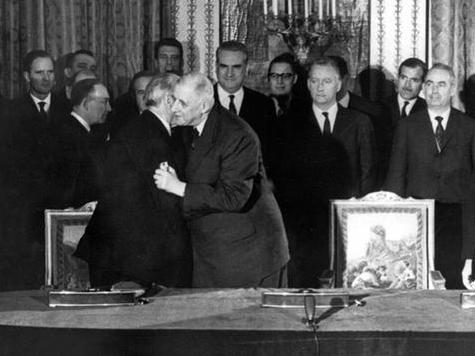 Signature of the Elysée Treaty in January 1963