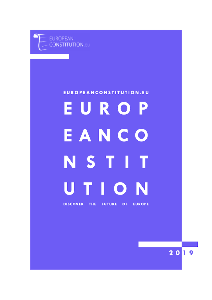 European Constitution - Cover