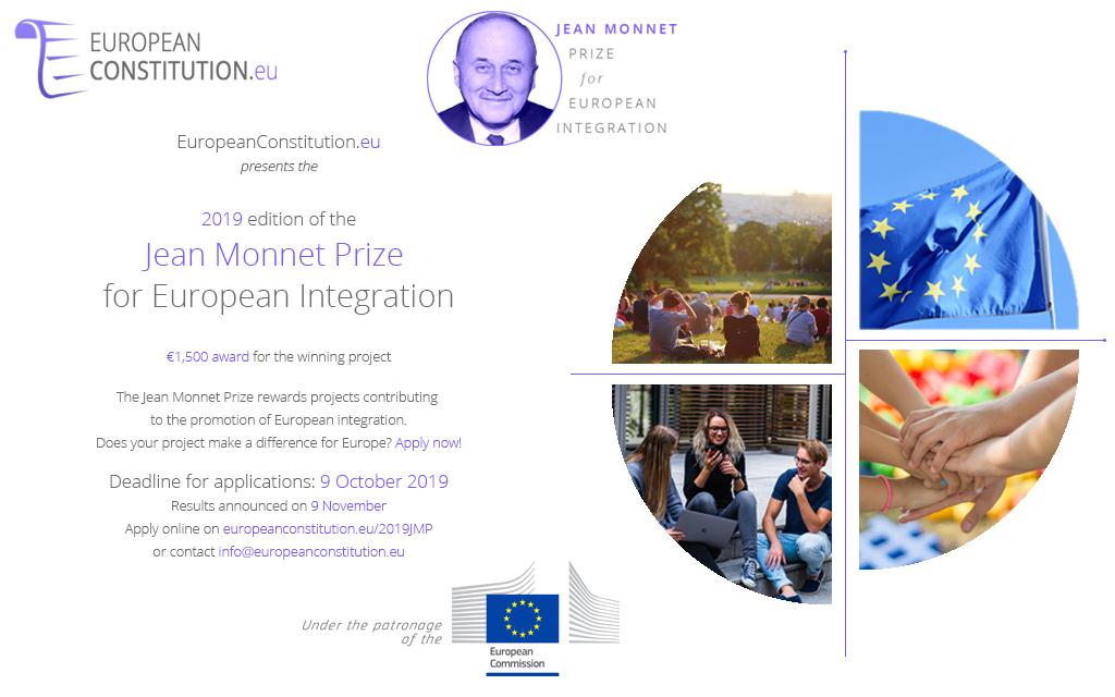 Plaquette Jean Monnet Prize